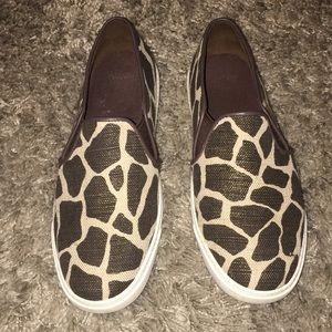 Cole Haan Grand Os Giraffe Print Slide sneakers